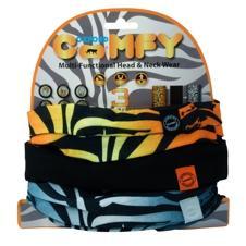 Oxford Comfy Halstunnel. Tiger.  3 Pack