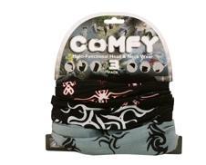 Oxford Comfy Halstunnel. Tribal. 3 Pack