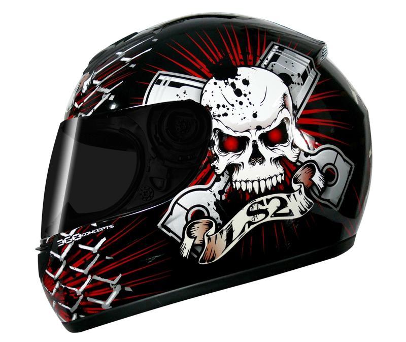 FF 350 LS2 Piston Head Black