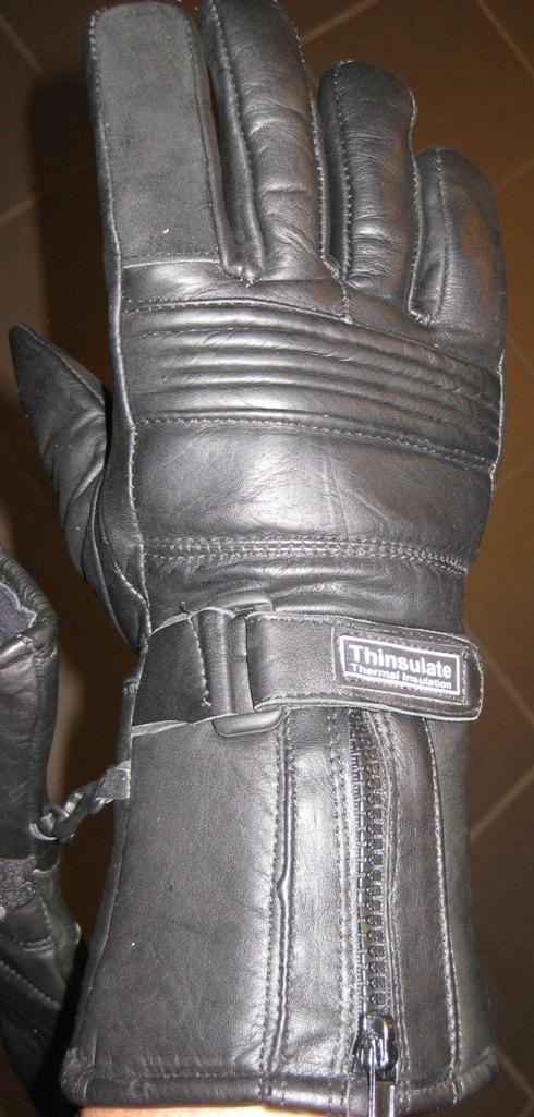 MC handsker Læder Thinsulate