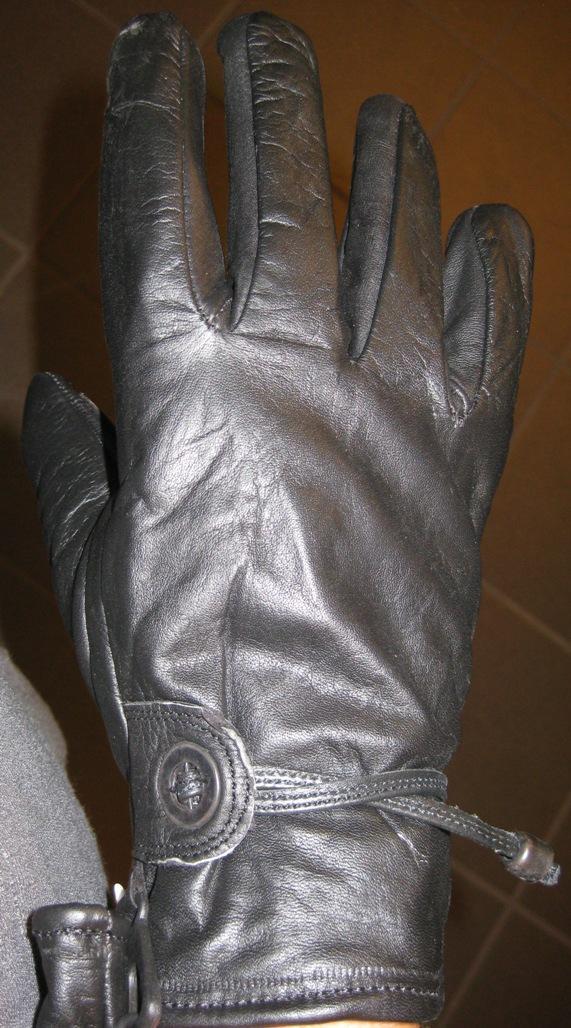 MC handsker Læder  kort model